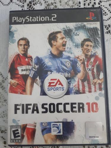 Fifa 10 Playstation 2 Original Fisico