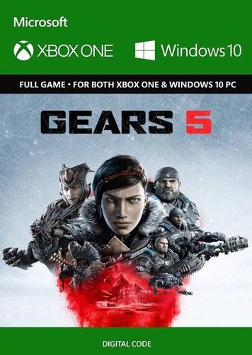 Gears 5 Xbox One Codigo Digital-