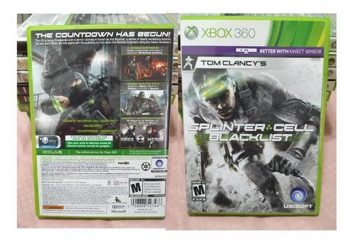 Juego De Xbox One S Y Xbox 360 Splinter Cell Blacklist