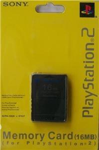 Memory Card De 16mb Para Playstation 2 Sony Ps2 Memoria