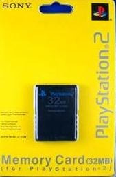 Memory Card De 32mb Para Playstation 2 Sony Ps2 Memoria