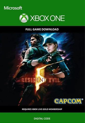 Resident Evil 5 Xbox One Codigo Digital