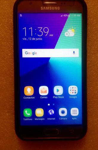 Vendo Celular Samsung J3 Con Protector De Vidrio Y Forro