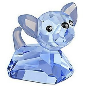 Adorno - Figurín De Cristal Swarovski Chihuahua Lovlots