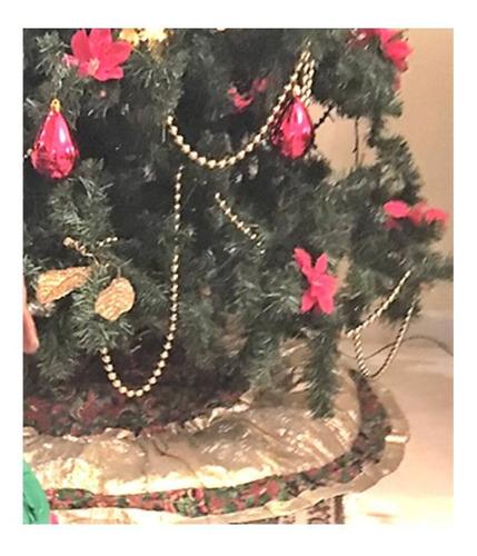 Adornos Navidad. Miniaturas. Pie De Arbol Grande