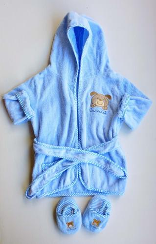 Bata De Baño Para Bebé. Marca Baby Look.