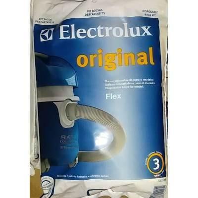 Bolsas Originales Aspiradoras Electrolux Modelo Flex Emp. 3