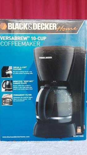 Cafetera Black&decker 10 Tazas Nueva