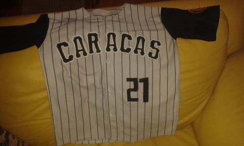 Camisa De Los Leones Del Caracas, Talla L