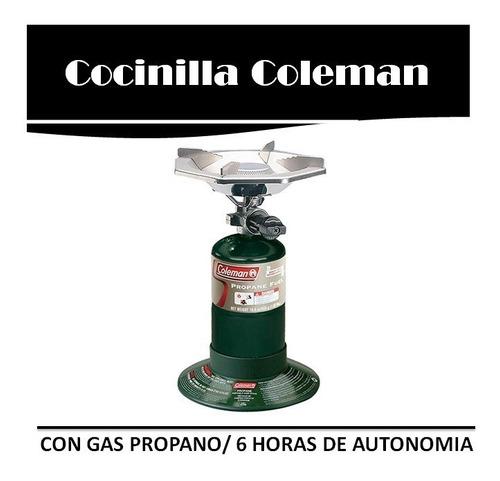 Cocina Cocinilla Coleman Con Bombona