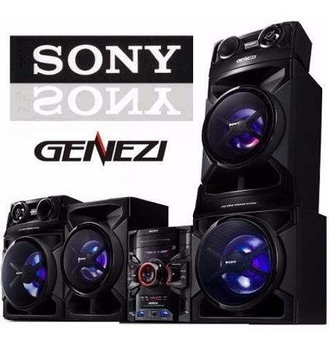 Equipo De Sonido Sony Gtr888 17600 Watts 3cd Doble Usb