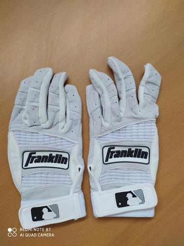 Guantines Para Béisbol Marca Franklin Talla L Nuevo
