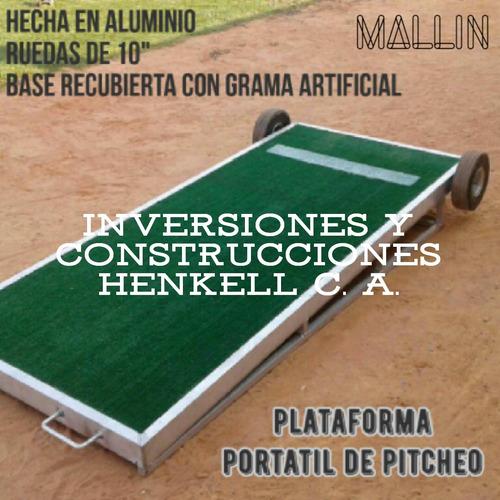 Jaula De Bateo, Plataforma Portatil De Picheo - Beisbol