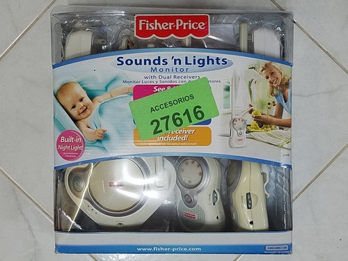 Monitor Sounds Lights Para Bebés Fisher Price