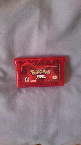 Pokemon Ruby Nintendo Gameboy Advance Repro