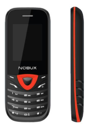 Telefono Nobux Wind Negro Rojo Doble Simcard P Wind-blackred