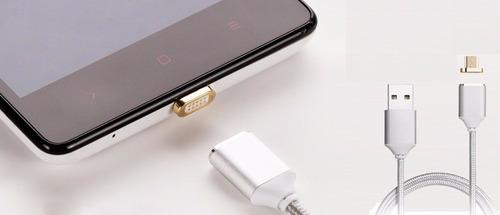 Cable Cargador Magnetico Para Samsung Huawei Tables