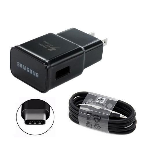 Cargador 2 En 1 Samsung S8 S10+ A10 A20 Carga Rapida Tipo C