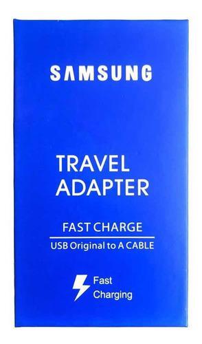 Cargador Samsung Micro Usb Completo Carga Rápida 3 Amp