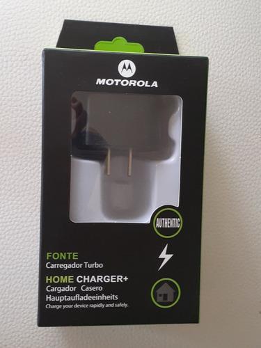 Cargador Turbopower Motorola Micro Usb Carga Rápida.