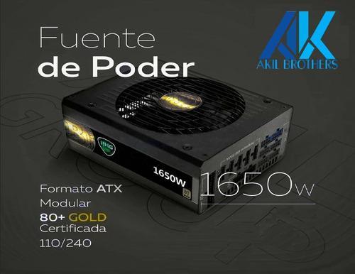 Fuente De Poder De 1650w Certificada