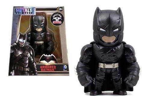 Jada Toys Dc Comics Armored Batman De Metal Figura 10 Cm