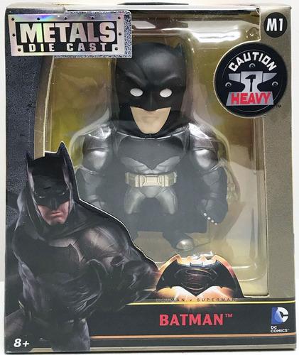 Jada Toys, Dc Comics, Batman De Metal, La Figura Mide 10 Cm.
