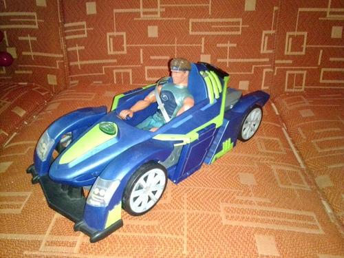 Max Steel Carro Nave Muñeco Juguete Original Mattel