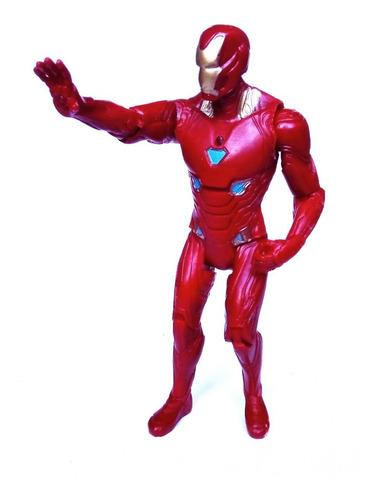 Muñeco Iron Man Capitan America Vengadores End Game Hulk