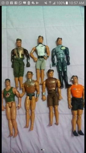 Muñeco Max Steel Originales..