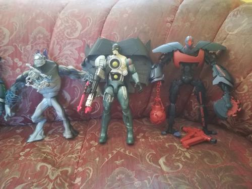 Muñecos Originales Max Steel, Elemento & Cytro