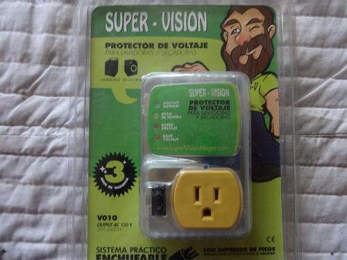 Protector De Voltaje Para Lavadora Y Secadora 120vac