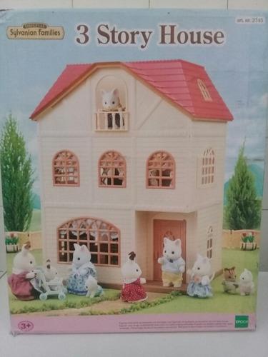 Sylvanian Family Casa De Muñecos Con Accesorios