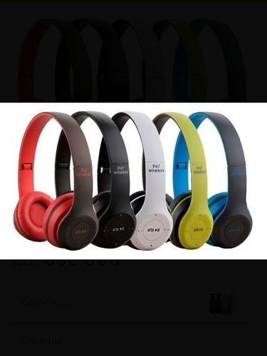 Audífonos Inalámbricos Bluetooth Manos Libres Fm Aux