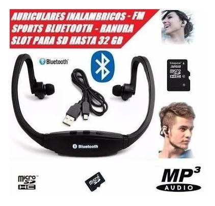 Audifonos Inalambrico Bluetooth Radio Micro Tarjeta Sd Ps4