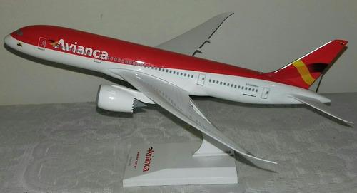 Avión A Escala  Avianca Boeing  Sky Marks 60v