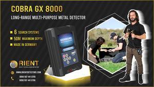 COBRA GX 8000: el mejor dispositivo de búsqueda de tesoros