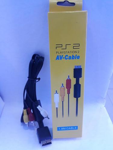Cable De Audio Video Para Ps2, Ps1 Y Ps3. Tienda Fisica
