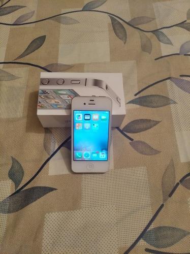 Celular iPhone 4s Blanco Usado 16gb Solo Movistar 3g