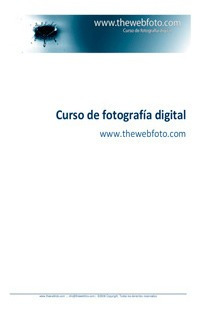 Curso De Fotografía Digital - The Web Foto