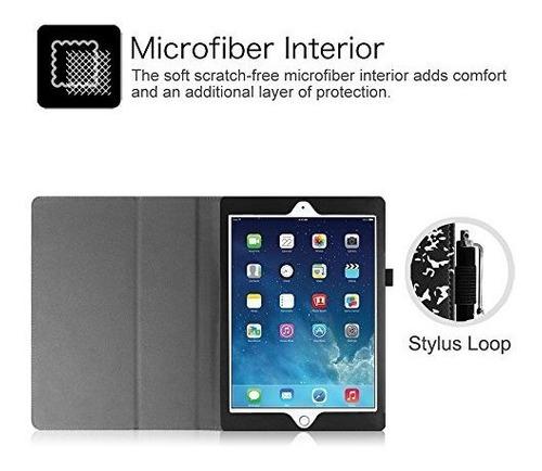 Estuche Tipo Libro Para iPad Mini 1 2 3