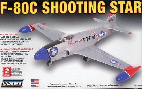 F-80c Shooting Star Kit Plástico 1/48 Lindberg Usa.