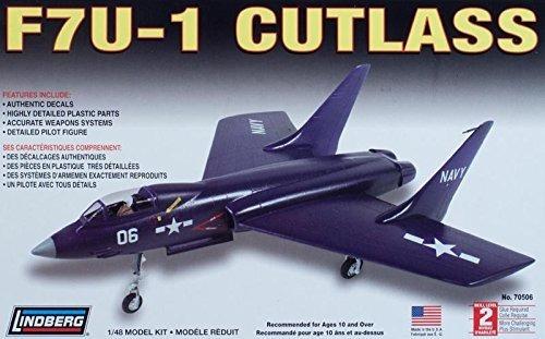 F7u-1 Cutlass (kit Plástico), 1/48. Lindberg Usa.