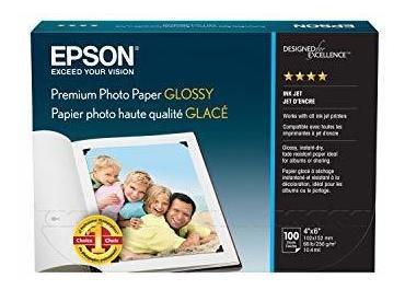 Papel Para Fotografia Epson Premium Brillante Blanco