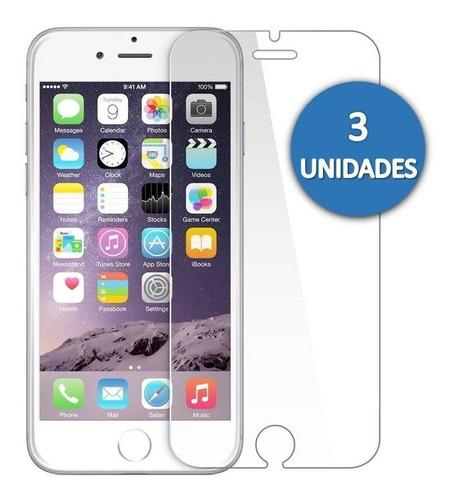 Protector Vidrio Templado iPhone 6 Plus 6s Plus 7 Plus