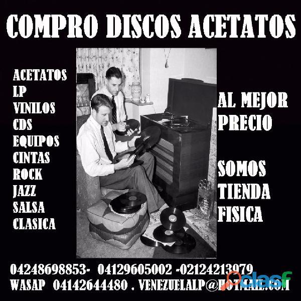 SE COMPRAN DISCOS LP ACETATOS, DISCOS, VINILES, EQUIPOS,