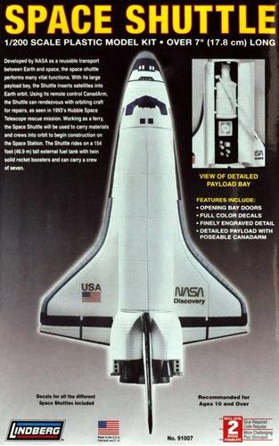 Space Shuttle (kit Plástico), . Lindberg Usa.