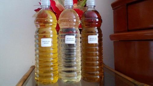 Aceite De Almendra, Argan,macadamia Para Uso Cosmético.