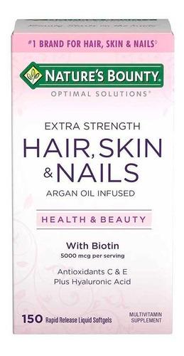 Cápsulas Hair, Skin, Nails. (capsulas Cabello, Piel Y