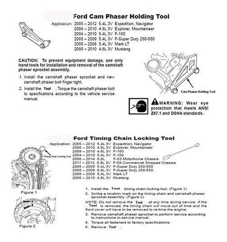 Kit Herramienta Para Moker Ford Soporte Camara Phaser